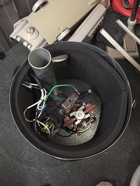Après nettoyage d'aspirateur centrale - Réparation d'aspirateur - Aspirateur St-Charles